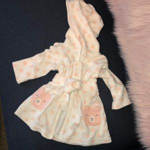Robe terry cloth you Carters 0-9 months
